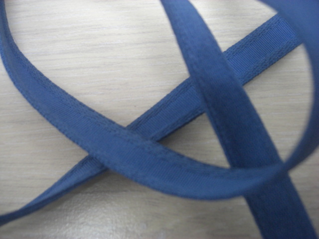 Beugelband staal blauw